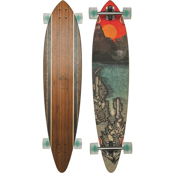 Globe Pintail 44 Bamboo Longboard Complete