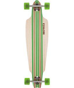 Globe Prowler Bamboo Longboard Complete Bamboo/Clear Green 38 x 10in '13