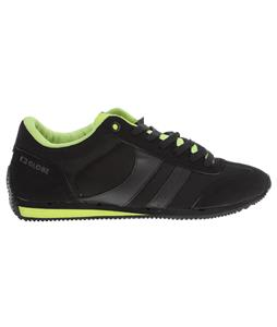Globe Pulse Lite Skate Shoes Black/Acid Green