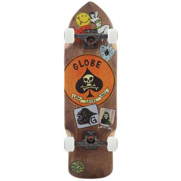 Globe Shank Longboard Skateboard Complete