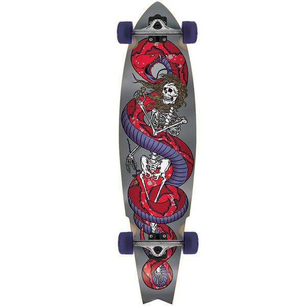 Globe Snake Dance Cruiser Longboard Skateboard Complete