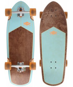 Globe Stubby Longboard Skateboard Seafoam