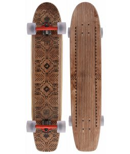 Globe The Plank Longboard Skateboard Brown