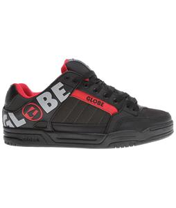 Globe Tilt Skate Shoes Black/Grey/Red Tpr