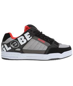 Globe Tilt Shoes Black/Silver/Fiery Red TPR