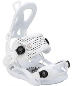 GNU B-Real Snowboard Bindings White