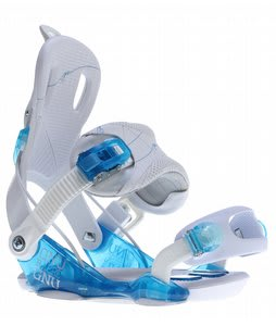 GNU B-Here Snowboard Bindings Blue
