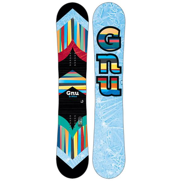 GNU B-Nice Pattern Snowboard