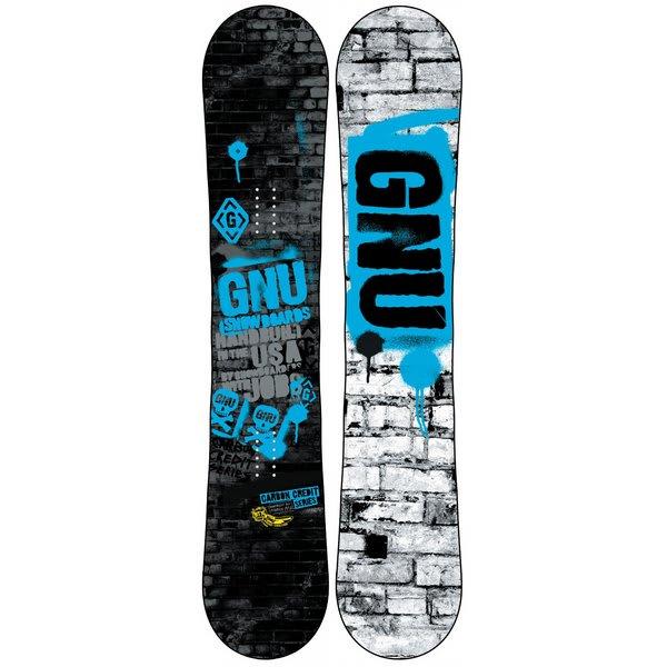 GNU Carbon Credit BTX Wide Snowboard