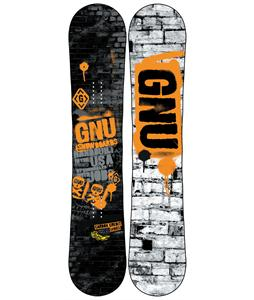 GNU Carbon Credit BTX Snowboard Blem 150