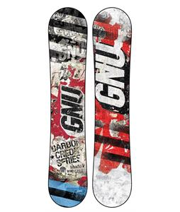 GNU Commission Carbon Credit Wide Snowboard 162
