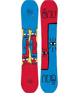 GNU Forest Bailey Head Space Asym Snowboard