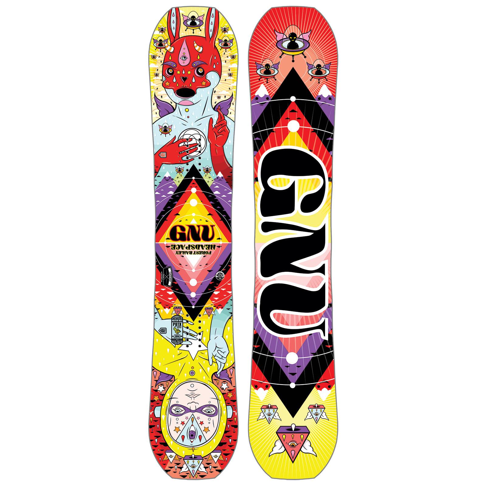 GNU Forest Bailey Head Space Snowboard