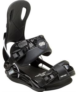 GNU Front Door Snowboard Bindings Black