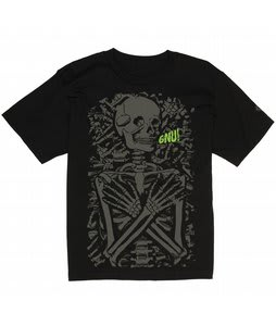 GNU Mr Bones T-Shirt Black