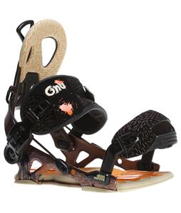 GNU Mutant Snowboard Bindings Brown