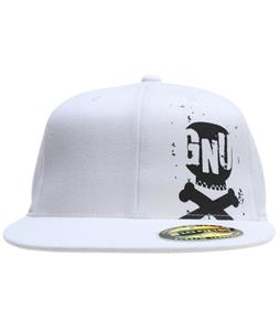 GNU Pete Cap White