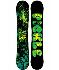 GNU Pickle PBTX Wide Snowboard 156
