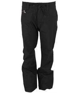 GNU Pinski Snowboard Pants Black Twill