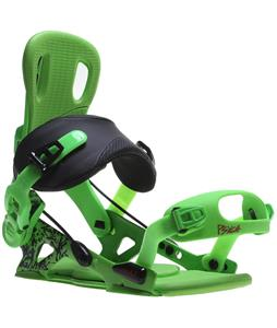 GNU Psych Snowboard Bindings Green