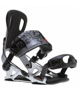 GNU Psych Snowboard Bindings Gray