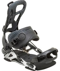 GNU Psych Snowboard Bindings Black