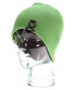GNU Reverse Beanie Light Green