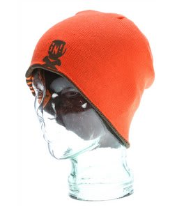 GNU Reverse Beanie Light Orange