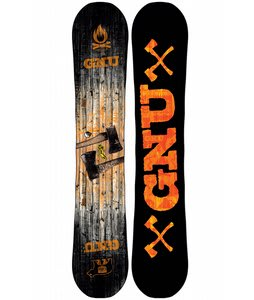 GNU Riders Choice C2BTX Wide Snowboard 166