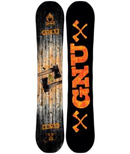 GNU Riders Choice C2PBTX Wide Snowboard Blem