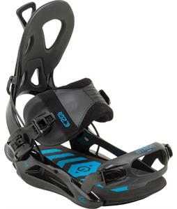 GNU Street Snowboard Bindings Black