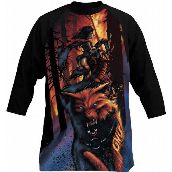 GNU Temple 3/4 T-Shirt