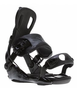 GNU Weird Snowboard Bindings Black