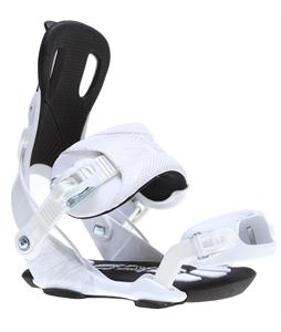 GNU Weird Snowboard Bindings White