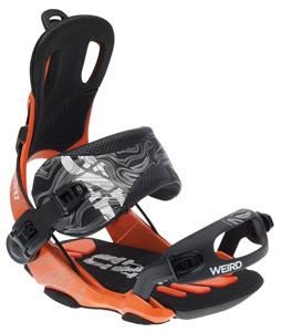 GNU Weird Snowboard Bindings Orange