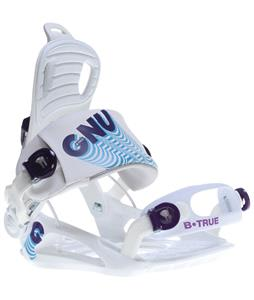 GNU B-True Snowboard Bindings White