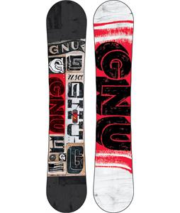 GNU Carbon Credit Wide Snowboard 162