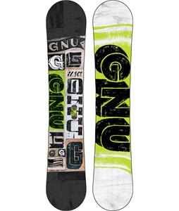 GNU Carbon Credit Wide Snowboard 153