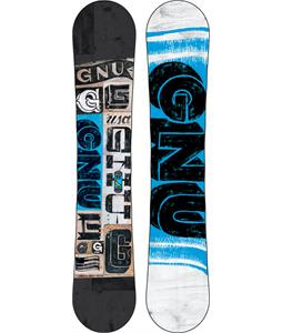 GNU Carbon Credit Wide Snowboard 156