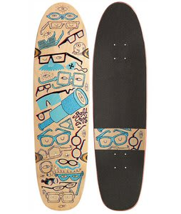 Gold Coast 4D Longboard Deck