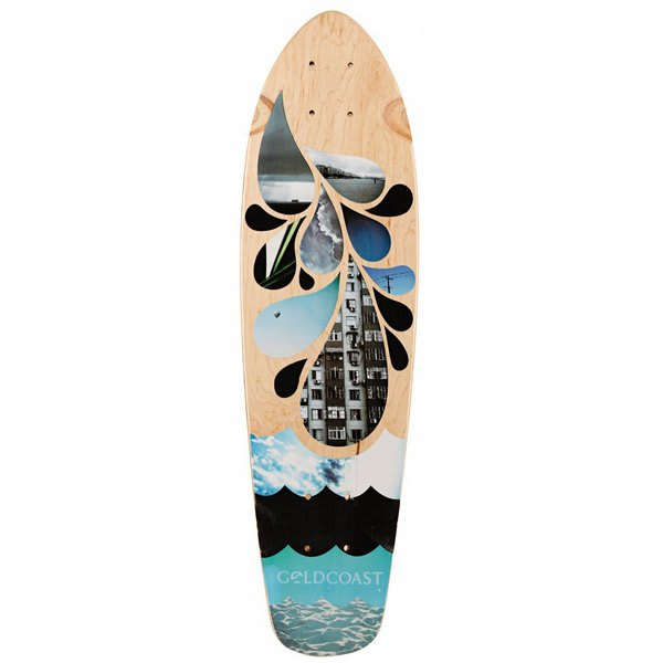 Gold Coast Blues Shovel Longboard Deck