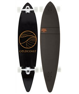 Gold Coast Classic Longboard Complete Black/Orange