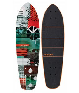 Gold Coast Connect Shovel Longboard Deck