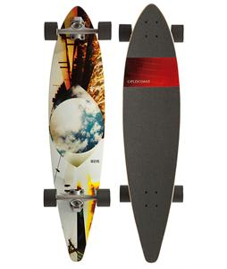 Gold Coast Eye Dye Longboard Complete