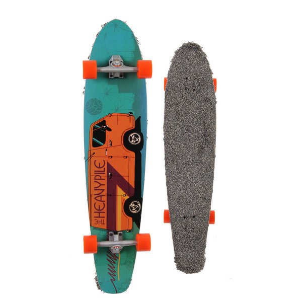Gold Coast Heavy Pile Dart Longboard Skateboard Complete