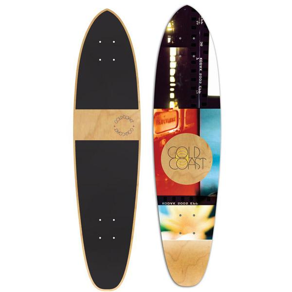 Gold Coast Hour Roller Longboard Deck