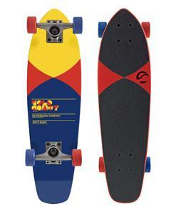 Gold Coast Pier Longboard Skateboard Complete Red