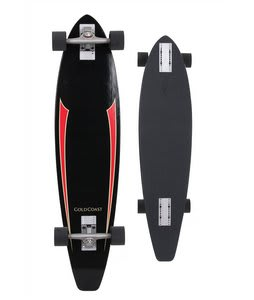 Gold Coast Rat Tach Longboard Skateboard Complete