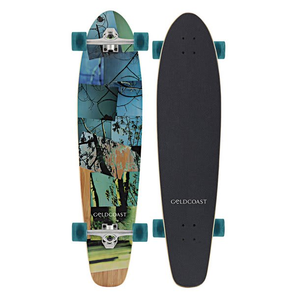 Gold Coast Rebirth Moon Longboard Skateboard Complete
