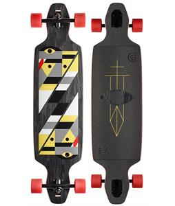Gold Coast Serpentagram Longboard Complete Black